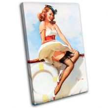 Vintage Girl Retro Pin-ups - 13-2062(00B)-SG32-PO